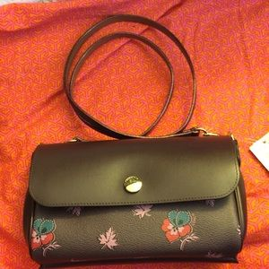 Coach Reversible Crossbody Oxblood Wild Flower NWT